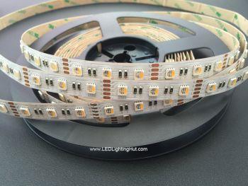 4 In 1 RGBW 5050 LED Strip, 60/m, 12V/24V, 5m Reel