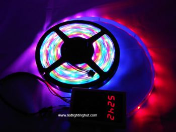 LPD6803 Digital RGB LED Strip, DC12V, 5m