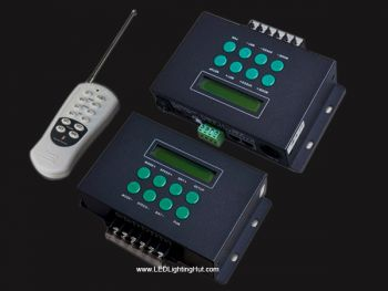 LT-300 RGB/DMX Controller with LCD Screen and Remote