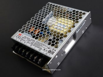 Mean Well 108W Enclosed Power Supply, LRS-100-24, 24V / 4.5A