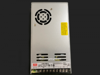 Mean Well 300W Enclosed Power Supply, LRS-350-5, 5V / 60A