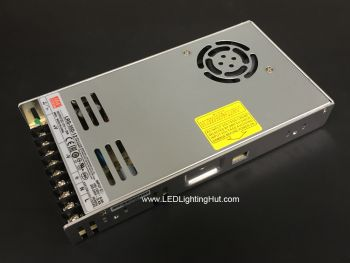 Mean Well 350W Enclosed Power Supply, LRS-350-12, 12V / 29A