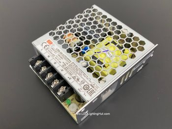 Mean Well 50W Enclosed  Switching Power Supply, LRS-50-5, 5V / 10A