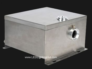 Outdoor 80W Color Wheel LED Fiber Optic Illuminator, Replace 150W Metal Halide Illuminator