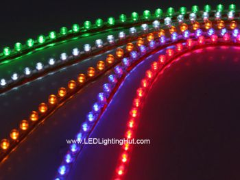 PVC Flexible Motorcycle LED Strip Light, 24-LEDs/48-LEDs/96LEDs/120LEDs Available