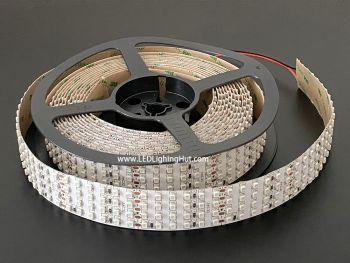 Quad Row 3528 SMD LED Strip, 480 LED/m, 28mm Wide, 24V DC, 5m Reel