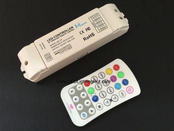 RGBW 4CH RF LED Controller, DC5-24V, 5A/CH