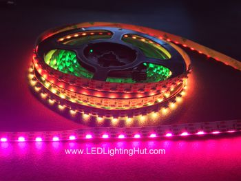 SK6812 4020 Digital Addressable Side Emitting RGB LED Strip,  60/m
