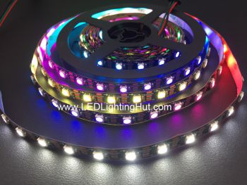 SK6812 4 In 1 RGBW Digital Addressable LED Strip, 60LEDs/m, 4m/roll, 5VDC