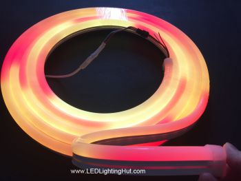 SK6812 RGB Addressable Silicone LED Neon Pixel Light, 60 LEDs/m, IP65 Waterproof, DC5V, 5m