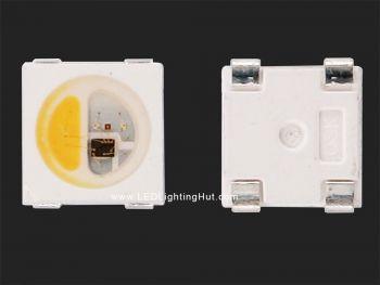 SK6812 RGBW 5050 Smart LED, Chip-Built-in, 100 Pack