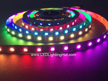 SK9822 Digital Addressable RGB LED Strip, 60 LED/m, 4m, 5V DC