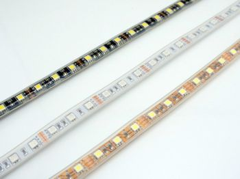 5050 SMD Flex LED Strip, 60 LED/m, 12V DC, 5m Reel, R/G/B/Y/W Optional