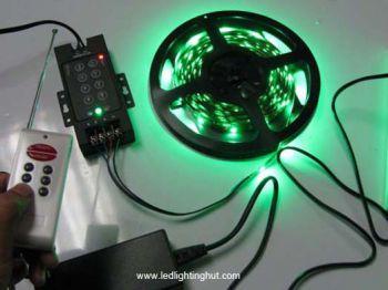 SMD5050 RGB LED Strip + 8 Keys RGB RF Controller + Power Supply Kit