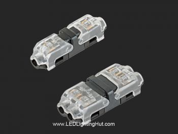 24-18 AWG Single/Two Wire Snap Splice Connectors, Pack of 10