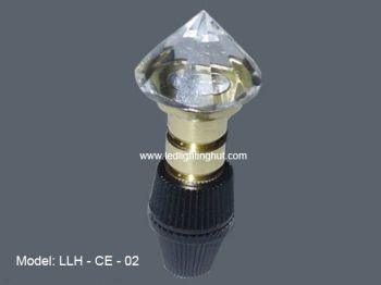 10 Pack Crystal Fiber Optic End Fixtures