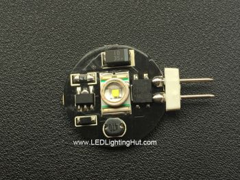 Super Bright 1W CREE Disc type Side-Pin G4 base Lamp