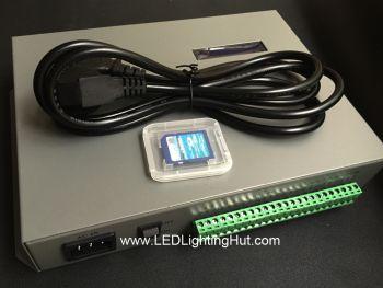 T-300K Online/offline Pixels Controller, 8 Ports, 8192 Pixels