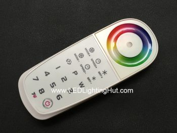 T4 8 Zone 2.4G Wireless Programmable RGBW LED Remote controller