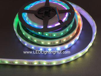 TM1812 Digital Intelligent Flexible LED Strip, 32 LEDs/m, 5m(16.4ft), 12V