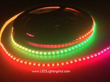Ultra High Density APA102 2020 Digital RGB LED Strip, 200/m, 5V, 1m