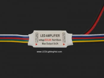 Ultra Slim 5 CH Mini Signal Amplifier for RGB+Tunable strips