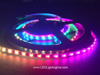 Ultra Slim 120/m WS2812C 2020 Digital RGB LED Strip, 4mm Wide, 5V, 1m