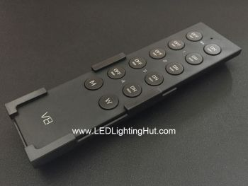 V8 4 Zones RGBW LED Remote Control for RGBW LED Lighting