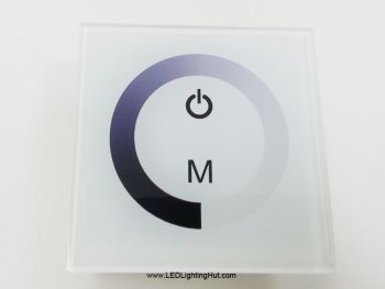 Wall Mount Touch Panel LED Dimmer, 8A, DC12-24V