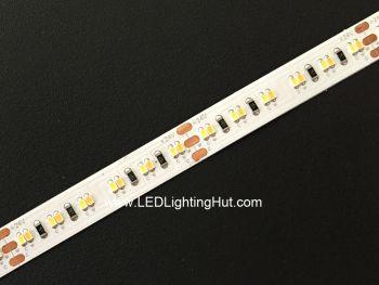 White Adjustable 2216 High CRI >95 LED Strip, 240/m, 12V/24V, 5m Reel