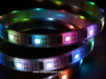 WS2801IC (256 scales) digital RGB led strip, 5 meters(16.4Ft) ,DC5V
