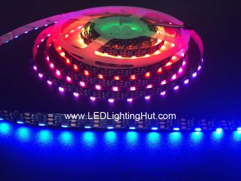 WS2811 Digital RGB Side Emitting LED Light Strip, 60/m, 5VDC
