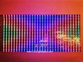 24x30 NeoPixel WS2812B Digital Adreesable Flexible LED Dispaly Screen Panel (Matrix), 25x50CM, DC5V Input