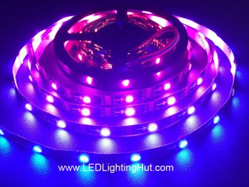 WS2813 Digital Addressable RGB LED Strip, Dual Data Signals, 30 LED/m, 5m/roll, 5VDC