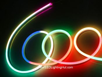 WS2815 12V Digital Silicone LED Neon Pixel Light, 60 LEDs/m,  5m