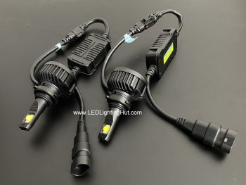 XHP70 CREE LED HeadLight Set, H4 H7 9005 9006 H8/H11 Available