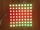 8x8 WS2812B Digital Intelligent RGB Flexible LED Matrix (Panel) , DC5V Input